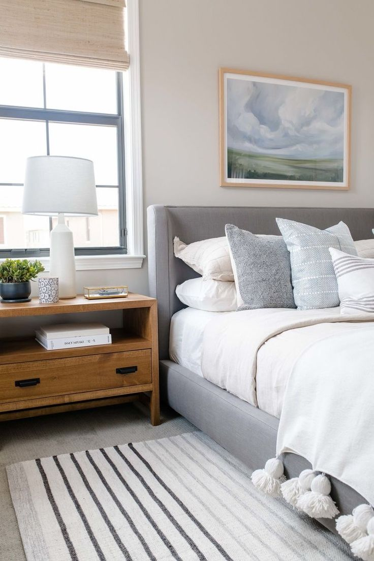 Modern/farmhouse bedroom design ideas with wooden