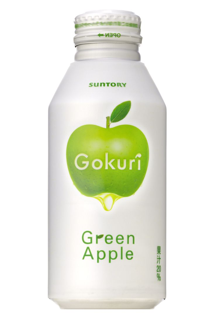 """Suntory Gokuri Green Apple"""