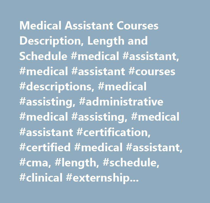 Best 25+ Medical assistant program ideas on Pinterest