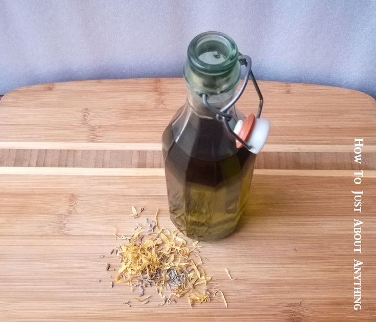 DIY Herbal Baby Oil (for the whole family!) - The Herbal Spoon