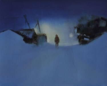 "Saatchi Art Artist Marta Zamarska; Painting, ""Siberian Nocturne 1"" #art"