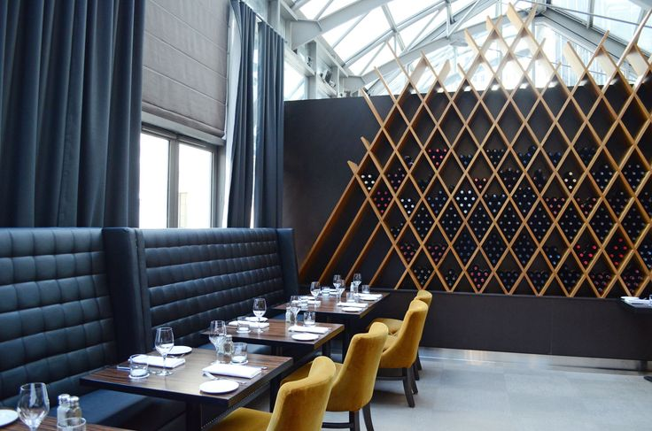 The newly renovated Jump restaurant in #Toronto by deSignum Design.