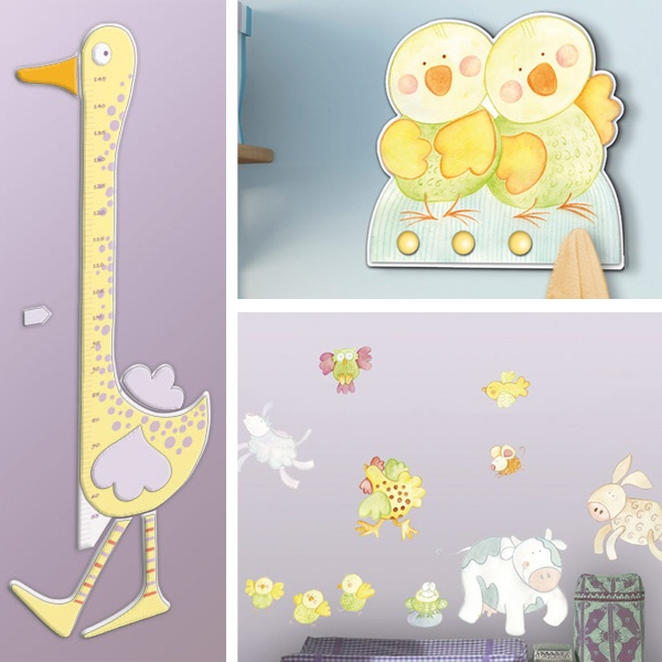 51 best images about wall stickers on pinterest - Wall stickers camerette ...
