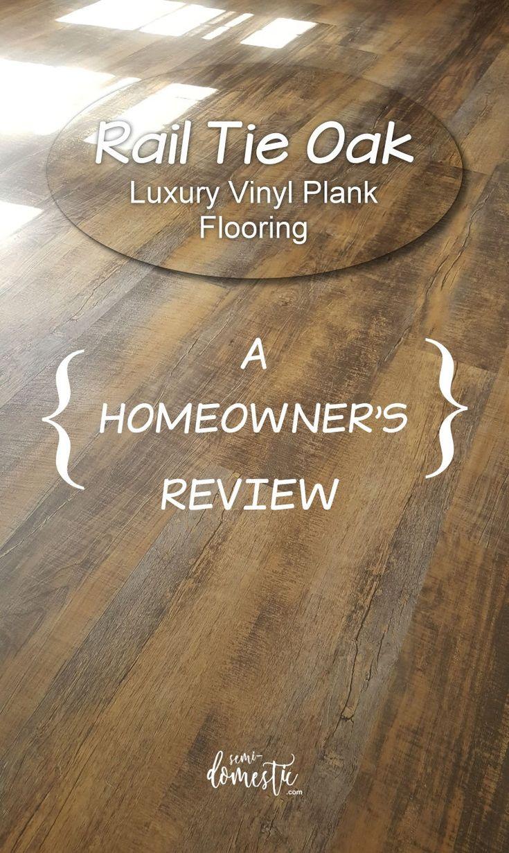 Rail Tie Oak Luxury Vinyl Plank (LVP) Flooring A