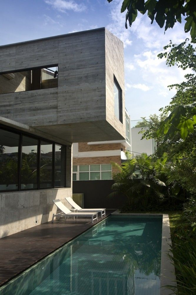 Great The Extended House / Formwerkz Architects Great Pictures
