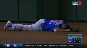 Cubs? Kyle Schwarber Carted Off After A Brutal Outfield Collision That Led To A Jean Segura Inside The Park Home Run