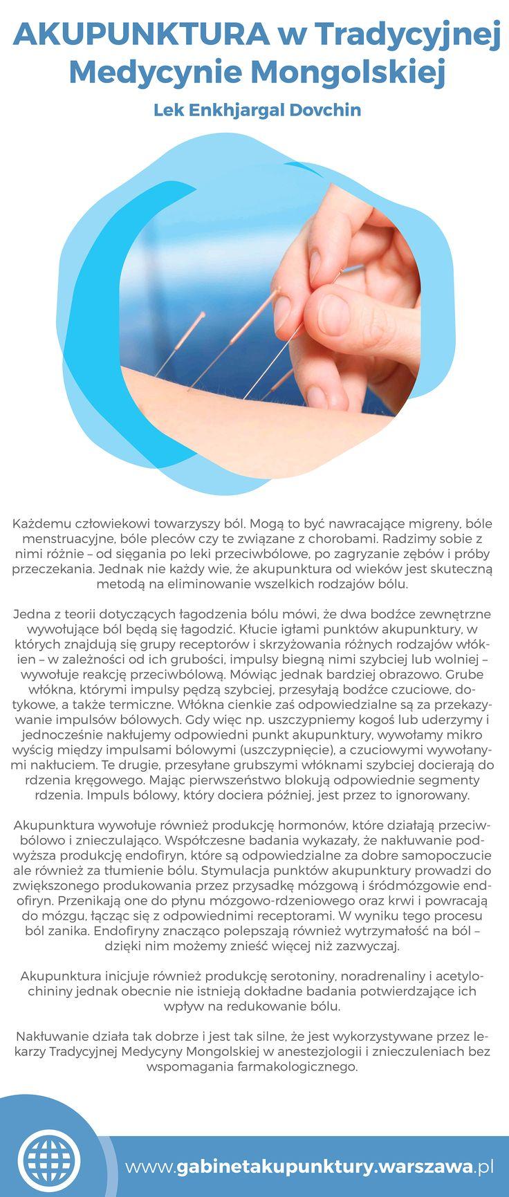 Gabinet Akupunktury prof Enkhjargal Dovchin [ www.gabinetakupunktury.warszawa.pl