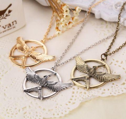 The Mockingbird Vintage Necklace