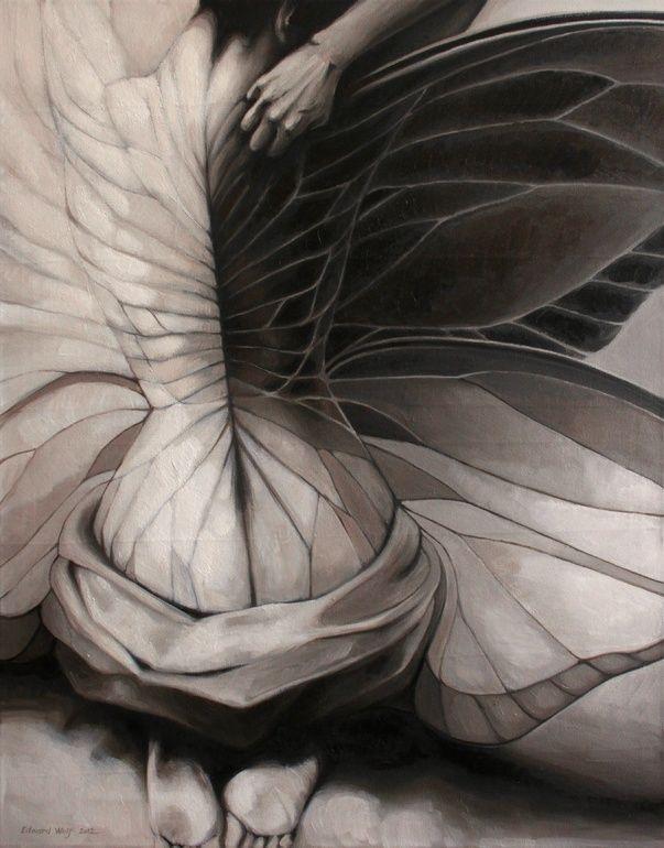 "Saatchi Art Artist: Doris Tesárková Oplová; Oil 2012 Painting ""Unexpected Change"""