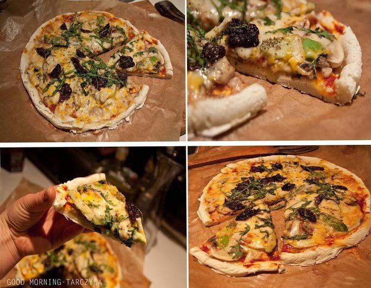 Bezglutenowa, coraz lepsza pizza <3