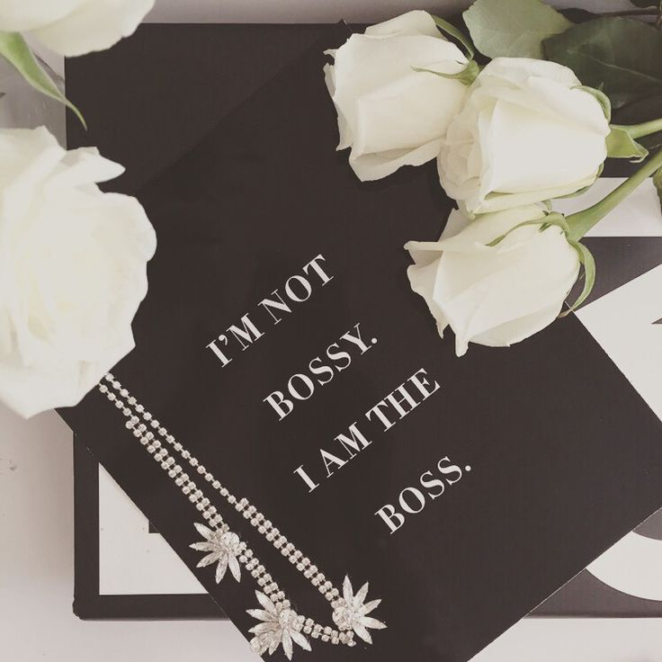 """I'm Not Bossy I Am The Boss"" Wall Print 