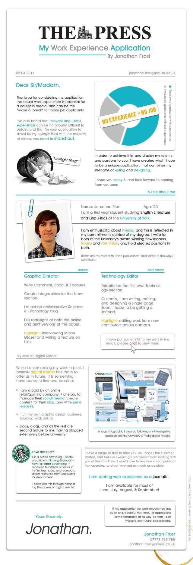 24 best Creative Portfolio Ideas images on Pinterest | Resume ...