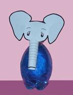 water bottle elephant from www.daniellesplace.com