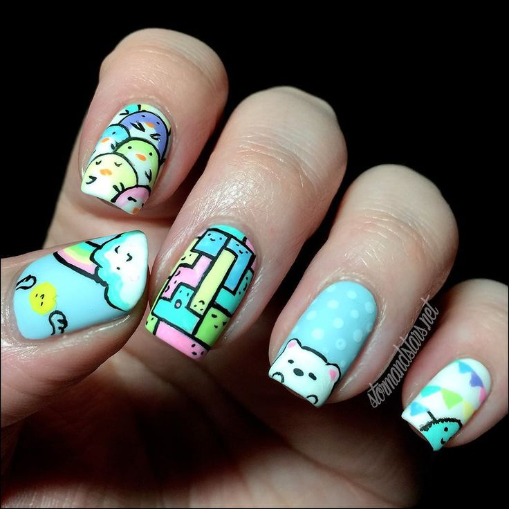 7 best Nails images on Pinterest | Nail scissors, Fingernail designs ...