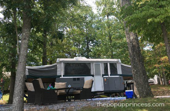 Jill's Pop Up Camper Makeover - The Pop Up Princess - PAINTING THE EXTERIOR