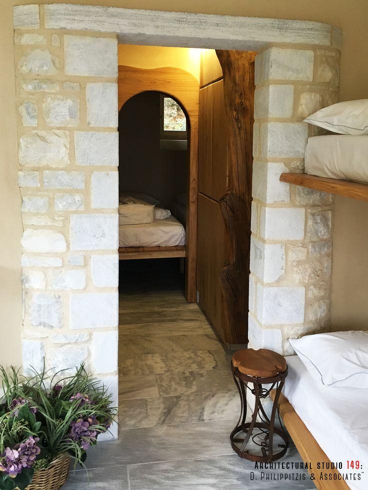 Bedrooms _ Pelion | hotel | double room | detail minimal | interior design | modern equipment _ visit us at: www.philippitzis.gr