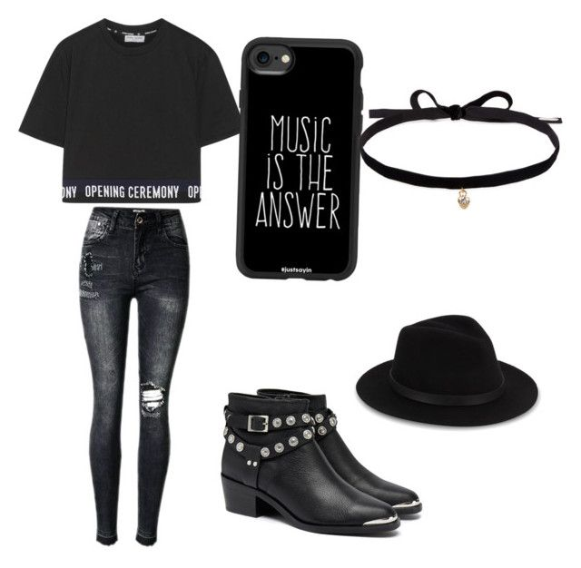 """""""Untitled #58"""" by anais-maria on Polyvore featuring Opening Ceremony, Senso, Casetify, Saks Fifth Avenue and Joomi Lim"""