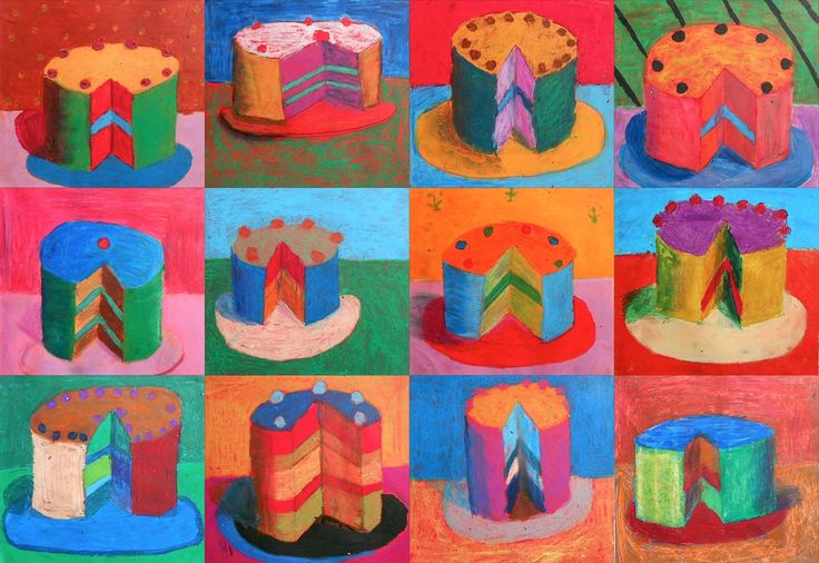 Wayne Thiebaudis an American artist who worked in the '60s. He is often associated with the Pop Art because of his choice of subjects (objects symbol of consumerism such as cakes, candies, chewi...
