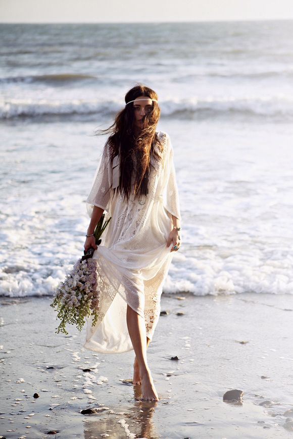 The Boho Garden casual beach wedding