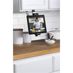 Cabinet mount for the iPad - no tools required.  Thinking about getting this for my mother-in-law...