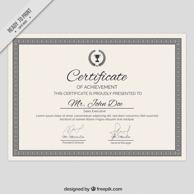 78 best Certificate images on Pinterest Free stencils, Free - graduation certificate template free