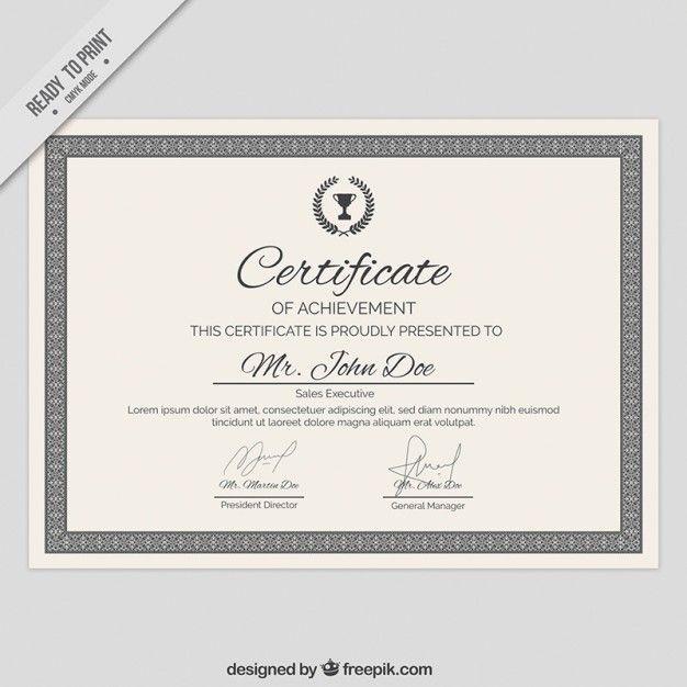 78 best Certificate images on Pinterest Free stencils, Free - graduation certificate wording