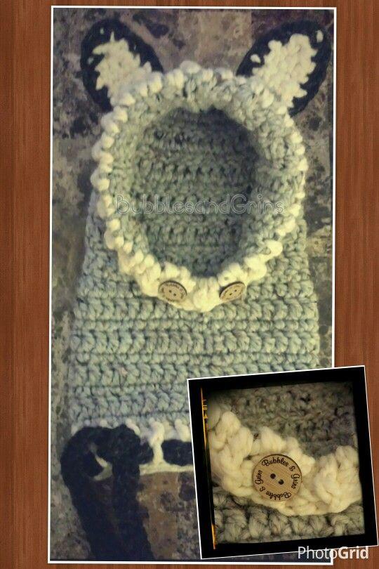 Crochet Woodland Animal Cowl  #Bubblesandgrins