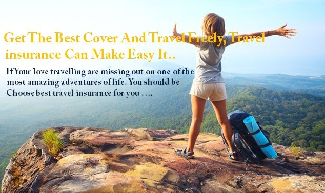For people who love travel would definitely own a travel insurance,