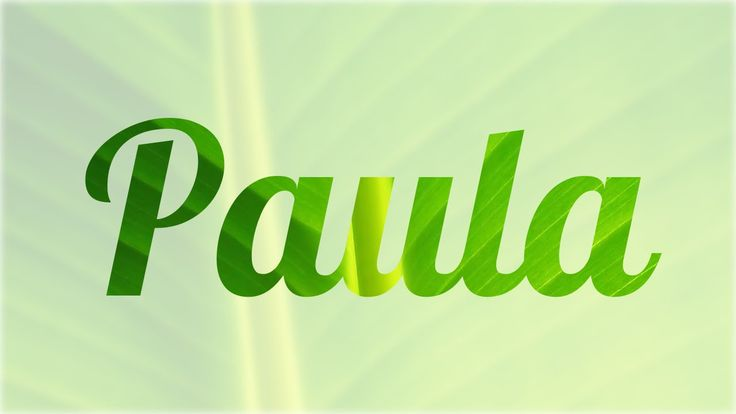 Significado de Paula, nombre Español para tu bebe niño o niña (origen y ...