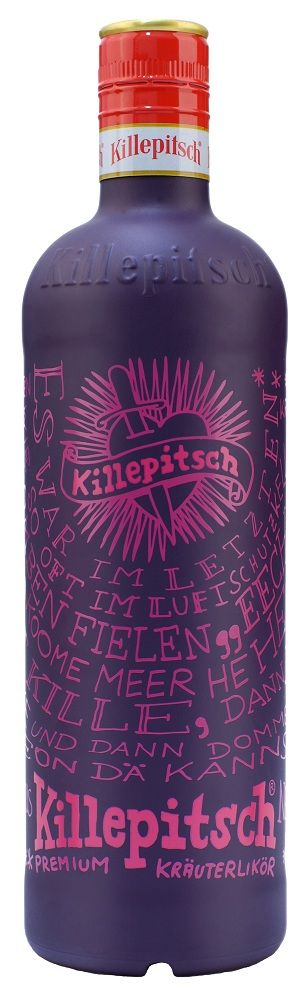 Killepitsch Krauterlikor Herbal Liqueur is an old very popular #packaging pin we haven't seen in a while PD