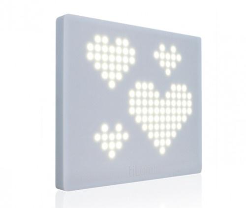 TiLumi Interactive design lamp  We've got these at voda office.