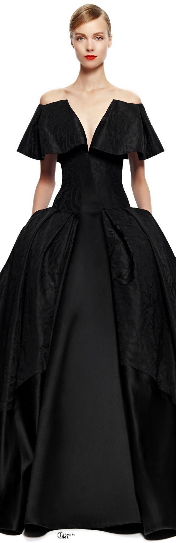44 best zac posen haute couture images on pinterest high for Zac posen short wedding dress