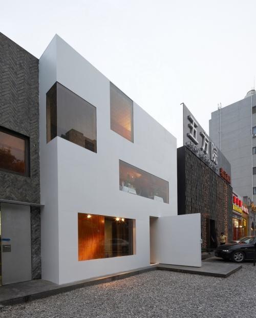 Standardarchitecture  urban backyard . Beijing