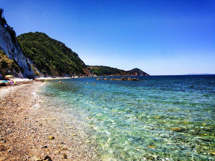 la spiaggia di Sottobomba
