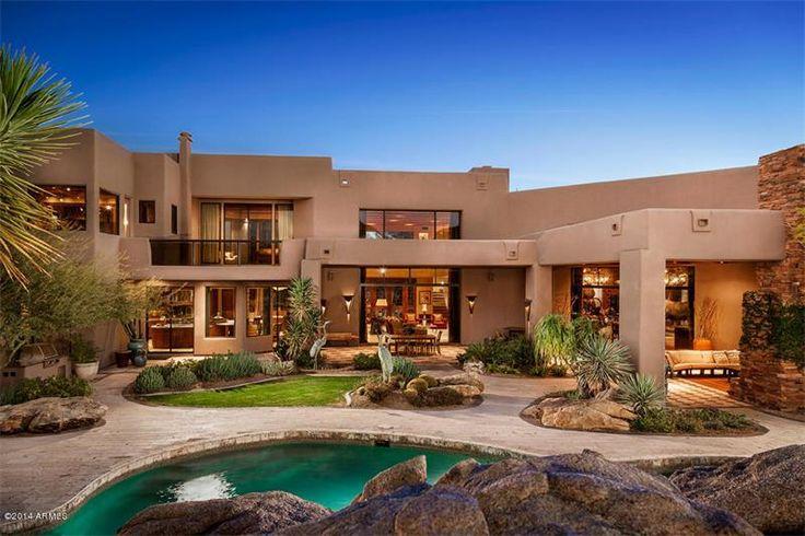 Contemporary Desert Home In Scottsdale Arizona 15 000