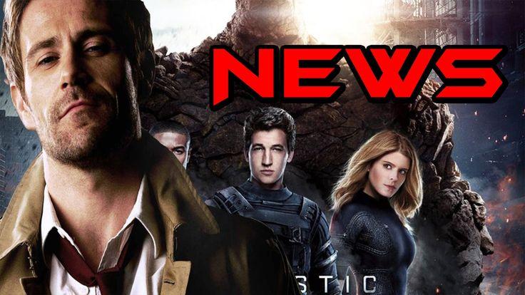 Constantine in Arrow! Fantastic Four Returning to Marvel!?