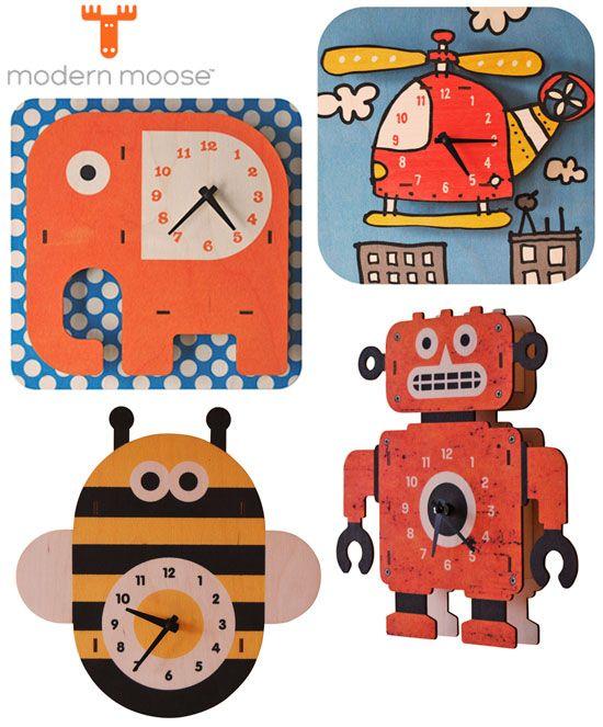 Relojes. Modern Moose