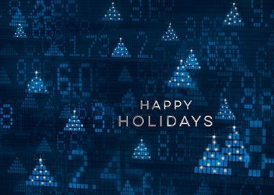 Wall Street Christmas Cards