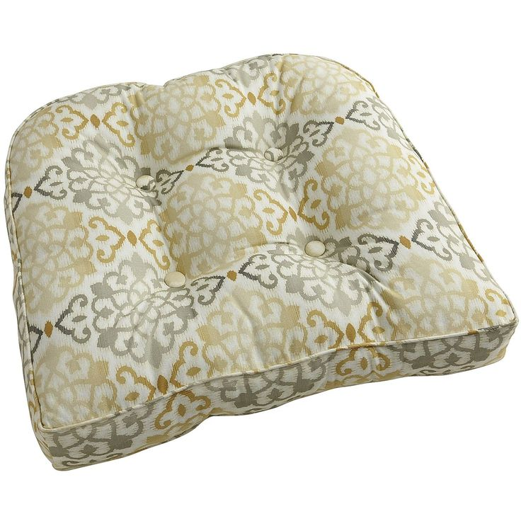Charlee mosaic deluxe cushion outdoor chair cushions