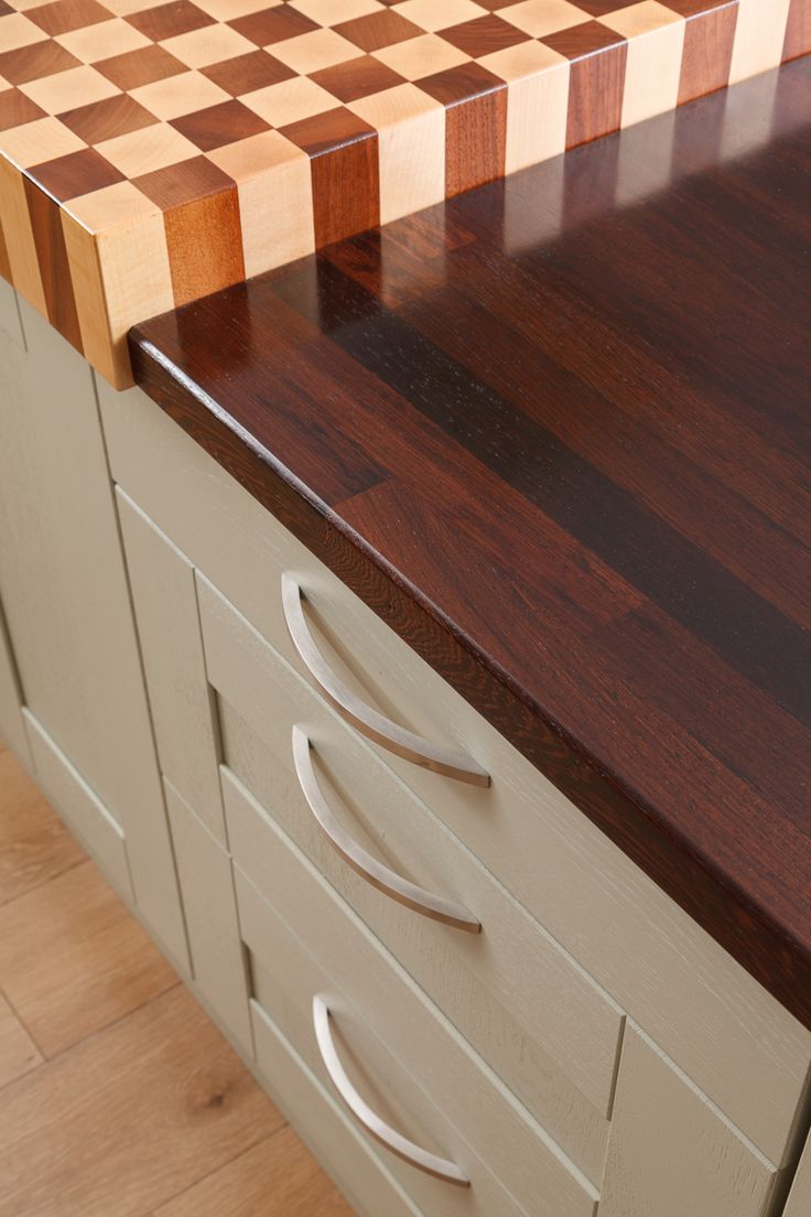 As well as a range of beautiful solid wood worktops, our Chesterfield showroom…