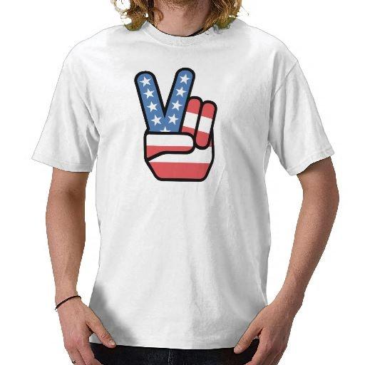 Peace is Patriotic T-shirt