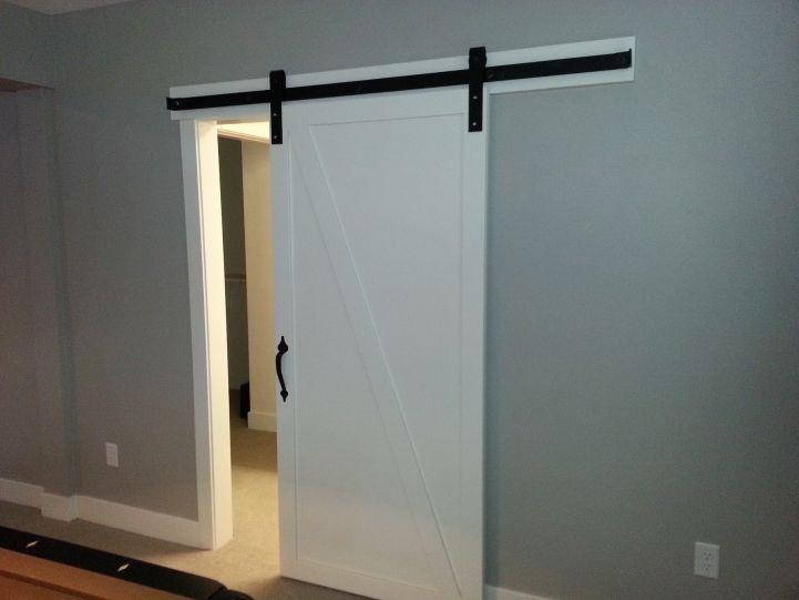 Best 25 Barn Door Track System Ideas On Pinterest Hanging Door Hardware Sliding Barn Door