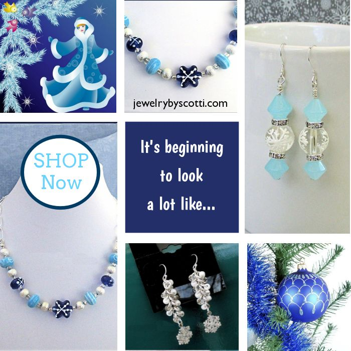 Holiday parties will be here before you know it. And then there's that whole gift giving thing... Shop Jewelry by Scotti now: https://small.bz/AAnupes https://www.etsy.com/shop/JewelryByScotti#handmadejewelry #bohostyle #shopping  #womensfashion  #etsyshop #fashion  #jewelryforher