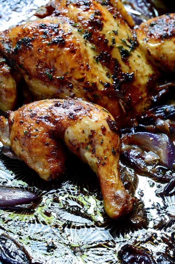 Rosemary and paprika roast chicken
