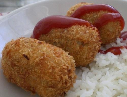 Koroke (Croquetas de patata y carne japonesas)