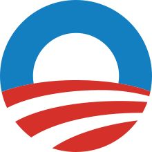 The Obama logo was the flagship symbol of Barack Obama's 2012 presidential campaign. The design became one of the most recognized political brand logos during the 2008 U.S. Presidential election, and it is being used again for Obama's re-election campaign.