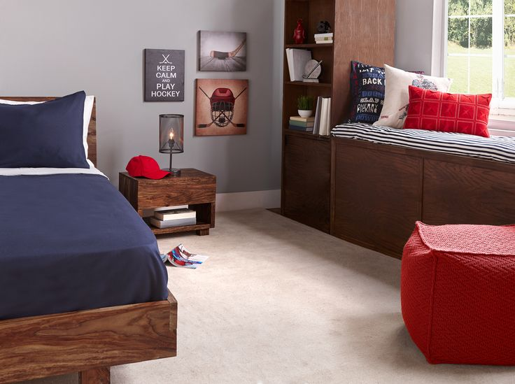"""""""Authentic Hockey"""" Kids Bedroom Decor"""