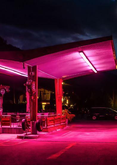 by michael sroka illumination pink aesthetic neon. Black Bedroom Furniture Sets. Home Design Ideas