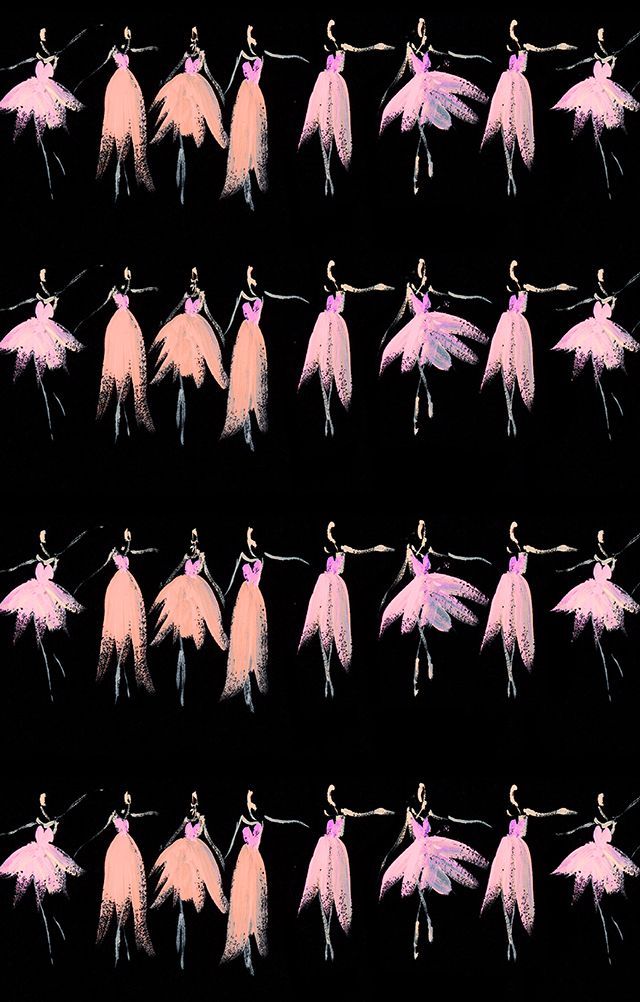 """""""All in a Row"""", Katie Rodgers, Paper Fashion"""