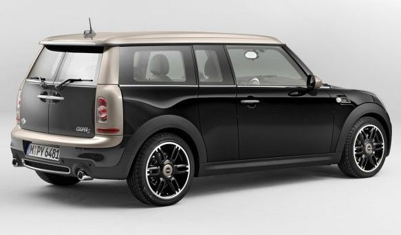 2014 Mini Clubman, Stylish and Affordable Luxury Cars-rear